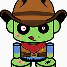 Zombie Cowboy O'bot 1.0 by Carbon-Fibre Media