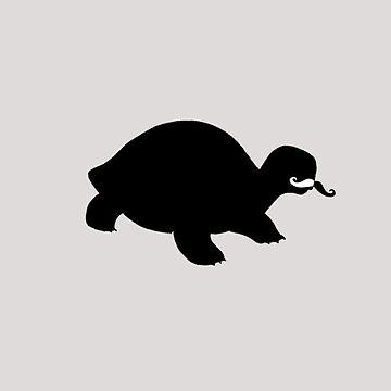 mustache turtle by adrienne75
