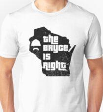 Randy Bryce für Kongreß 2018 t-shirts Das Eisen-Stachehemd Randy Bryce Mid-term Kongreß-Wahl 2018 Slim Fit T-Shirt