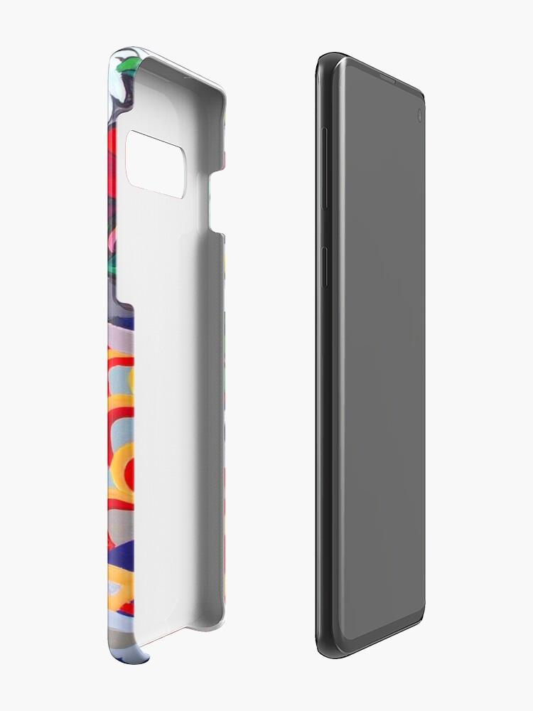 Alternative Ansicht von Gänseblümchen-Stillleben Hülle & Klebefolie für Samsung Galaxy