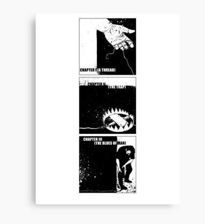 Three Chapters Canvas Print