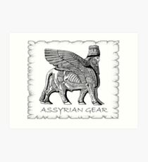 Assyrian Bull 2 Art Print
