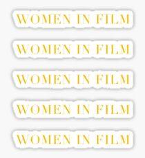 Women In Film Sticker