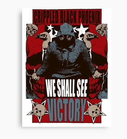 We Shall See Victory! Canvas Print