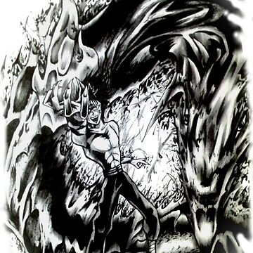 YU YU HAKUSHO - Hiei Black Dragon by AnderArtes