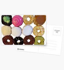A Dozen Donuts Postcards