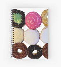 A Dozen Donuts Spiral Notebook