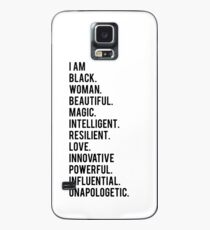 I Am Black Woman | African American | Black Lives Case/Skin for Samsung Galaxy