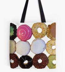 A Dozen Donuts Tote Bag