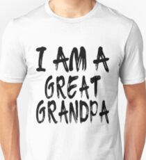Camiseta ajustada I Am A Great Grandpa