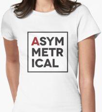 Asymmetrical Women's Fitted T-Shirt