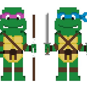 8-Bit Turtles! by AlCreed