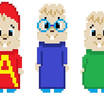 8-Bit Munks by AlCreed
