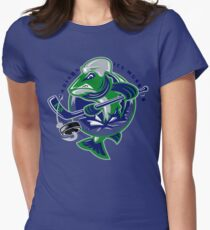 Madison Ice Muskies Women's Fitted T-Shirt