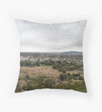 Goulburn View From The Hill Throw Pillow