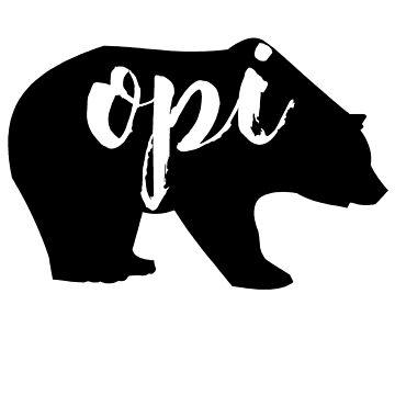 opi bear by schembri211