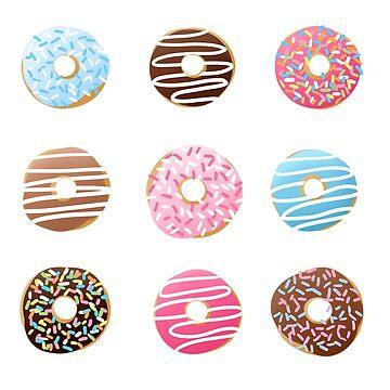 Donuts by mermaidpaints