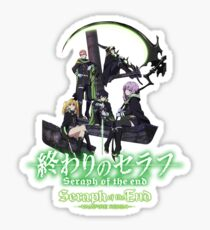 SERAPH OF THE END - Group A Sticker