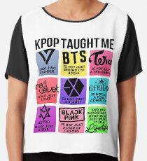 Blusa Kpop Taught Me (3ª generación de grupos ver.)