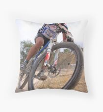 Cross Country Descent Throw Pillow