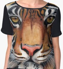 Animalia: Tiger Chiffon Top