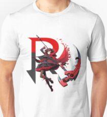 RWBY - R - BlazBlue Cross Tag Battle Unisex T-Shirt