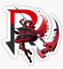 RWBY - R - BlazBlue Cross Tag Battle Sticker