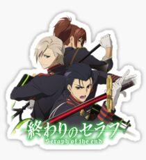 Seraph of the End - Guren Squad Sticker