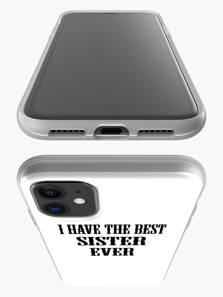 Vista alternativa de Funda y vinilo para iPhone I Have The Best Sister Ever