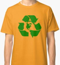 Earth Day Recycle Reuse Reduce Design Classic T-Shirt