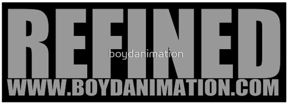 Refined Sticker by boydanimation