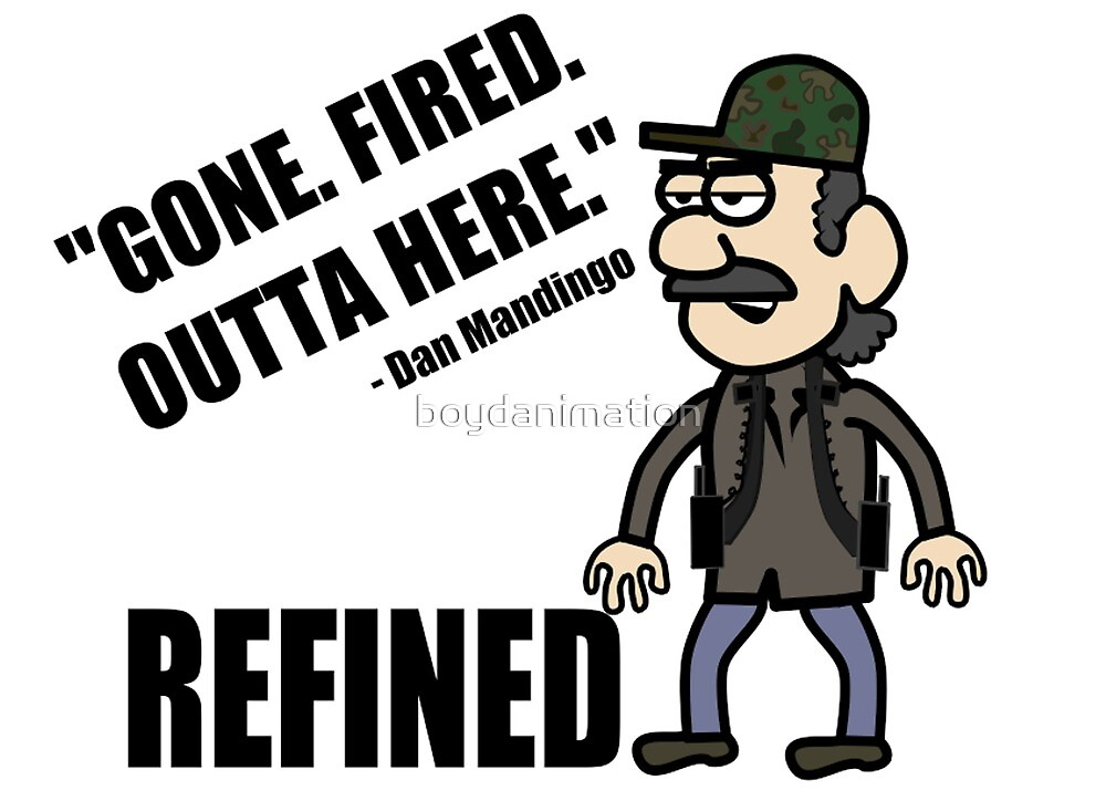 Gone. Fired. Outta here. by boydanimation
