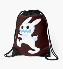 CUTE ZOMBIE BUNNY Drawstring Bag