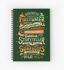 You are you Spiral Notebook