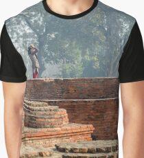 Dharma Chakra Jinavihara 02 Graphic T-Shirt