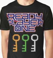 Ready Player One Keys Graphic T-Shirt