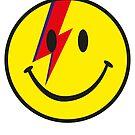 Bowie Smiley by gradydraws