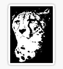 Cheetah Sticker