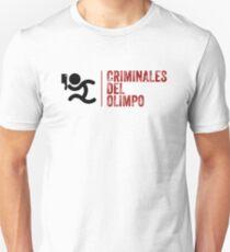 CAMISETAS SUDADERAS Y APPAREL (CRIMINALES DEL OLIMPO) Camiseta ajustada