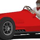 Retro 50s Formula Racecar by FelixR1991