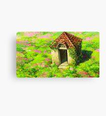 Ghibli Landscape (Howl's moving castle) Canvas Print