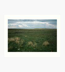 Wadsworth Moor West Yorkshire England 19840603 0058m Art Print