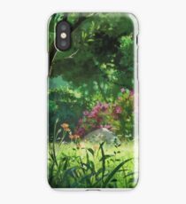 Ghibli Landscape iPhone Case/Skin