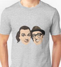Rik Mayall and Adrian Edmondson as Richie and Eddie from 'Bottom' Unisex T-Shirt