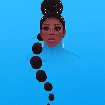 Bebe Zahara Benet by RikDrawsThings
