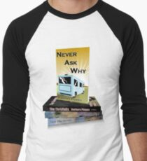 Barbara Phipp's Books Men's Baseball ¾ T-Shirt