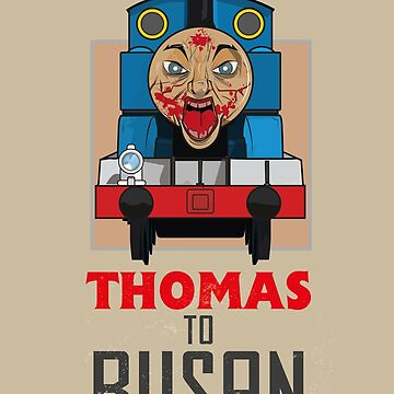Thomas to Busan by gradydraws