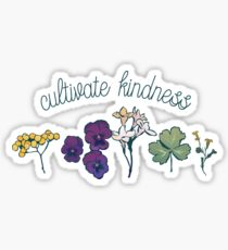 Cultivate Kindness Sticker