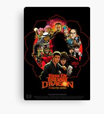 RISE OF THE LAST DRAGON Canvas Print