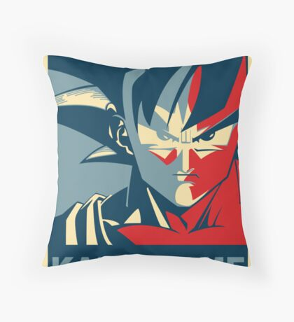 KAME-HAME Throw Pillow